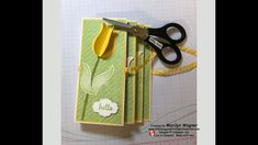 Accordion Fold Easter Card - YouTube Accordion Fold, Easter Card, Whisper, Mini Albums, Card Stock, Stamp, Make It Yourself, Videos, Youtube