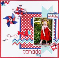 Canada Day  by Jodi Wilton - Scrapbook.com