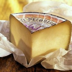 Pecorino Romano is a hard Italian cheese made from sheep's milk that was a staple in the diets of ancient Romans. Kinds Of Cheese, Milk And Cheese, Best Cheese, Wine Cheese, Charcuterie, Pecorino Cheese, Cheese Shop, Incredible Edibles, Al Dente