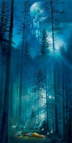 New Ideas Fantasy Art Nature Faeries Fantasy Magic, Fantasy World, Fantasy Forest, Images Disney, Disney Art, Disney Pocahontas, Disney Princess, Fairy Land, Fairy Tales