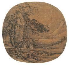 宋-郭熙-松林闲步图 | Painted by the Song Dynasty artist Guo Xi 郭熙. | China Online Museum - Chinese Art Galleries | Flickr