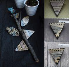 wood brooch, pin by Jagurka Napkin Rings, Brooch Pin, Wood, Accessories, Decor, Brooch, Decoration, Woodwind Instrument, Timber Wood