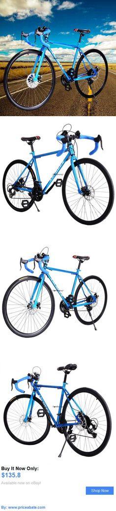 bicycles: Mens 49.5Cm Carbon Steel Road Bike Racing 700C Bicycle 21 Speed Ancheer Blue BUY IT NOW ONLY: $135.8 #priceabatebicycles OR #priceabate