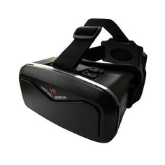 "Cyber Cart Virtual Reality Headsets, 3D VR Glasses for Games & Movies 3.5""-6"" Ios Android Phones"