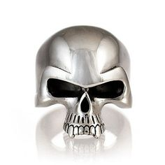 SKULL RING - DAEMON SKULL STERLING SILVER 925