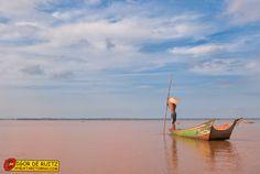 Danau Jempang. Kalimantan (Indonesia).