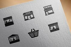 Store icons by Palau on @creativemarket
