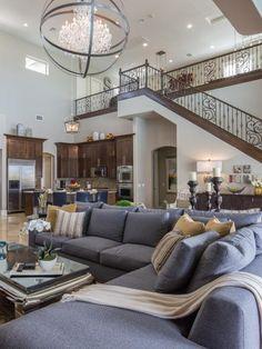 Property Brothers Drew and Jonathan Scott just completed a top-to-bottom gut renovation of their Las Vegas home. Flip through before-and-after photos to see the total transformation.