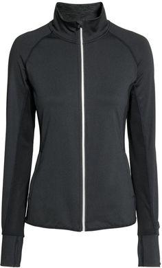 H M - Running Jacket - Black - Ladies Running Jacket d6408cc06