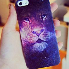 Capinha para IPhone leão