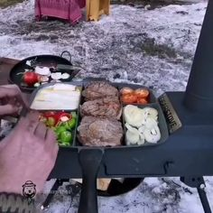"Camping | Survival | Bushcraft on Instagram: ""Started drolling yet? 😋 🌲 ⠀⁣ .⠀⁣ .⠀⁣ 📷 Video by @izciormanda.⁣ .⁣ .⁣ #campingtrip #wildernessnation #outsideculture #letscamp #campingfun…"" Camping Survival, Outdoor Cooking, Bushcraft, Dairy, Cheese, Instagram, Food, Outdoor Kitchens, Essen"
