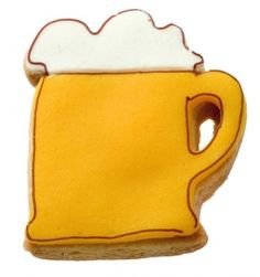 Cookie Cutters and Recipes - Beer Mug Cookie Cutter