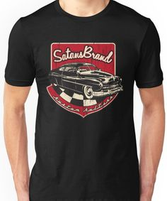 SatansBrand Kustom Kulture Unisex T-Shirt