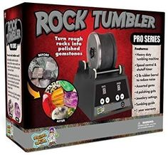 Discover with Dr. Cool PRO Series Rock Tumbler