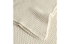 Organic Cotton Knit Blanket at Design Within Reach