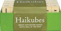 Haikubes: Create Captivating Haiku With a Roll of the Dice!: Amazon.fr: Forrest-Pruzan Creative: Livres anglais et étrangers