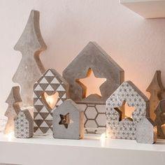 Gießform 2 Häuser (13,5 - 16,5 cm)