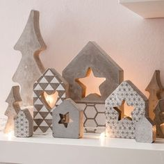 teelichthalter aus feinbeton selber machen beton. Black Bedroom Furniture Sets. Home Design Ideas