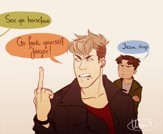 aot Jean funny comic | myart oh god snk shingeki no kyojin AOT Marco Bodt Jean Kirschstein ...