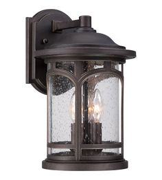 Quoizel MBH8409PN Marblehead 3 Light 15 inch Palladian Bronze Outdoor Wall photo