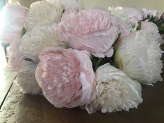 Excited to share the latest addition to my #etsy shop: Faux Peony Peonies Centrepiece Artificial Flower Arrangement Party Indoor Home Pink Ivory Floral Silk Blush Summer Decor Interior White Pale Artificial Flower Arrangements, Artificial Flowers, Peonies Centerpiece, Centerpieces, Tree Of Life Necklace, Peony, Pale Pink, Contemporary Design, Interior Decorating