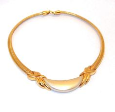 Napier Pearled Snake Link Collar Necklace, $19 at http://www.banglesandbeadsonline.com