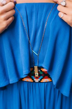 Piace Boutique - Whistle and Bead Necklace, $18.00 (http://www.piaceboutique.com/whistle-and-bead-necklace/)