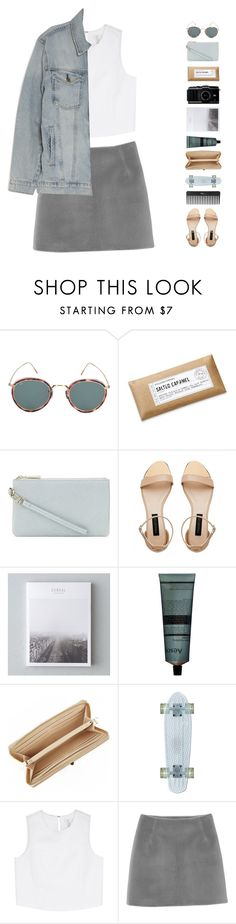 """""""nothing ever happens"""" by anastuhec ❤ liked on Polyvore featuring Eyevan 7285, Williams-Sonoma, Whistles, Forever New, Aesop, DKNY, Sephora Collection, Joie, Monki and Current/Elliott"""