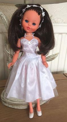 Vintage Furga Lisa Jean Very Rare Htf Fashion Sidepart Brunette Doll Sindy Size | 29.99+4.2