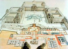 The Louvre Museum by architect Pierre Lescot was built in Paris, France in It was then remodeled in Museum Architecture, Renaissance Architecture, Classical Architecture, Architecture Plan, Louvre Palace, Louvre Paris, Museum Plan, New Museum, House With Land