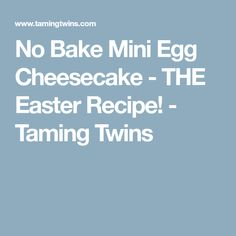 No Bake Mini Egg Cheesecake - The Ultimate Easy Easter Recipe! Easter Chocolate, Chocolate Treats, Chocolate Orange, Easter Cheesecake, Cheesecake Recipes, Best Dessert Recipes, Fun Desserts, Easy Easter Recipes, Mini Eggs