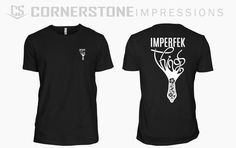 Sometimes life isn't perfect, but this Imperfek things tee captures that perfectly.) Have a cool idea or custom design we can bring to life? Simply click the image and request a quote on our website, we'll do the rest! Custom Design, Rest, Bring It On, Quote, Printed, Website, Cool Stuff, Mens Tops, Life
