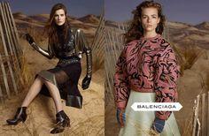 Balenciaga, AW 2012, Steven Meisel