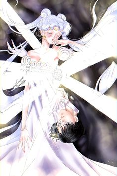 Художественные работы/by ASH/Anime art's photos – photos Sailor Moon Crafts, Sailor Moon Art, Neo Queen Serenity, Princess Serenity, Santa Outfit, Tuxedo Mask, Moon Illustration, Sailor Scouts, Pretty Art