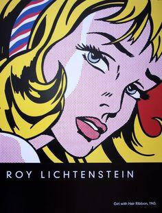 Roy Lichtenstein jusqu'au4 novembre au Centre Pompidou à Paris
