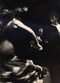 Emil Cadoo -  Flamenco dancers in motion, circa 1950's