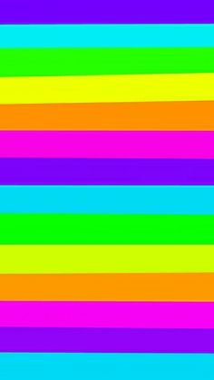 By Artist Unknown🇺🇸. Rainbow Wallpaper, Striped Wallpaper, Colorful Wallpaper, Screen Wallpaper, Wallpaper S, Pattern Wallpaper, Wallpaper Backgrounds, Iphone Wallpapers, Solid Color Backgrounds