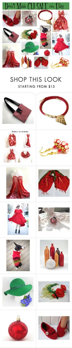 """""""Don't Miss CIJ Sale on ETSY"""" by belladonnasjoy ❤ liked on Polyvore featuring Cadeau"""