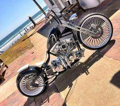 Bobber - Harley-Davidson und Co. Custom Bobber, Custom Choppers, Custom Motorcycles, Harley Bobber, Harley Bikes, Chopper Motorcycle, Bobber Chopper, Custom Street Bikes, Custom Bikes