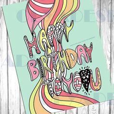 Happy birthday coloring pages adult coloring pages by olyadesign
