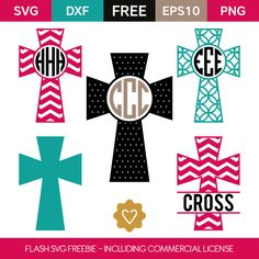FLASH FREEBIE- Grab this freebie set quickly, because it can change anytime without notice! Free Monogram, Monogram Decal, Cross Designs, Vinyl Designs, Vinyl Crafts, Vinyl Projects, Cricut Tutorials, Cricut Ideas, Easter Scriptures