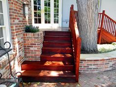 Teak Deck refinished and stained with Armstrong Clarke Mahogany Hardwood stain.  Love the rich color!