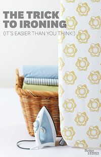 Some really good tips! How to Iron Clothes Stop dreading the chore of ironing.Take the hassle out of ironing clothes with these simple tricks. Learn how to iron shirts, slacks, skirts, and dresses and step out in freshly ironed style. Diy Cleaning Products, Cleaning Solutions, Cleaning Hacks, Cleaning Supplies, Housekeeping Tips, How To Iron Clothes, Laundry Hacks, Homekeeping, Diy Cleaners