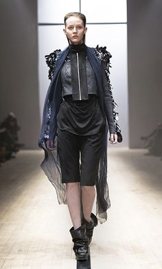 Maria Nordström - 01 Purgatory A/W 12 - Runway - Photo: Kristian Löveborg  www.marianordstrom.com Goth, Collection, Style, Fashion, Gothic, Swag, Moda, Fashion Styles, Goth Subculture