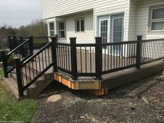 Lowe's Composite Deck by Tropics is a beautiful low-maintenance product that is easy to install. See our beautiful new tropics deck and instructions how to install yours! Composite Decking, Building A Deck, Deck Design, Lowes, Composition, Yard, Outdoor Decor, Decks, Beautiful