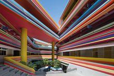 Nanyang Primary School, #Singapore | Studio 505 #school #colors