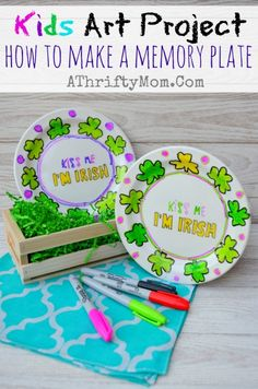 Memory plate, how to make your own personalized plate that WON'T wash off.