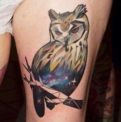 Galaxy Owl | Bored Panda