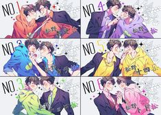 ImageFind images and videos about anime, osomatsu-san and ichimatsu on We Heart It - the app to get lost in what you love. Dark Anime Guys, M Anime, Cute Anime Guys, Anime Art, Osomatsu San Doujinshi, Image Manga, Handsome Anime, Anime Characters, Character Design