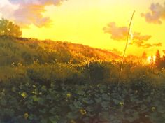 Art by 男鹿 和雄 Kazuo Oga* - Background Art |